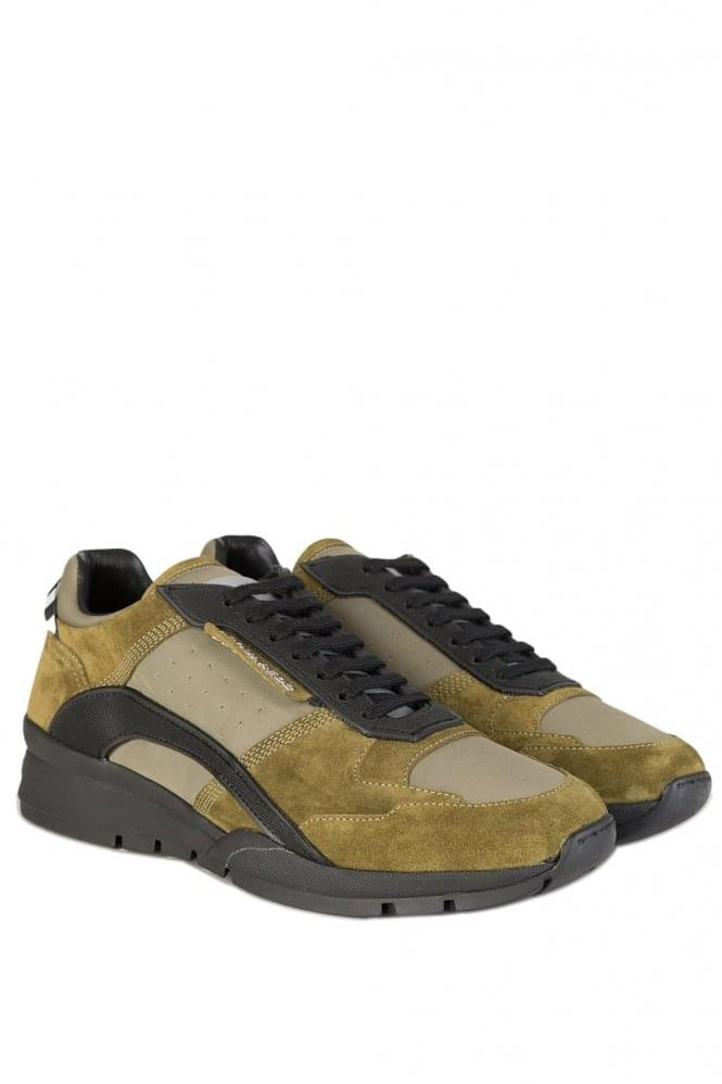 DSQUARED Kit Sneakers Khaki