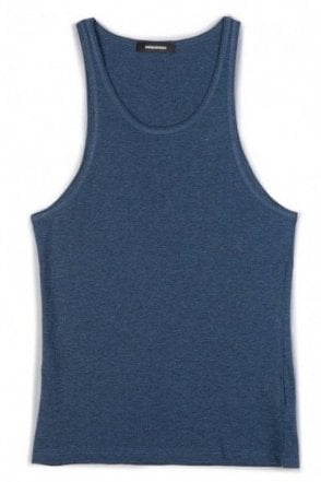 Dsquared Logo Back Vest Blue