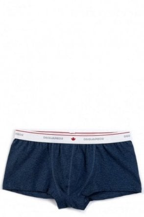 Dsquared Logo Band Boxers Blue