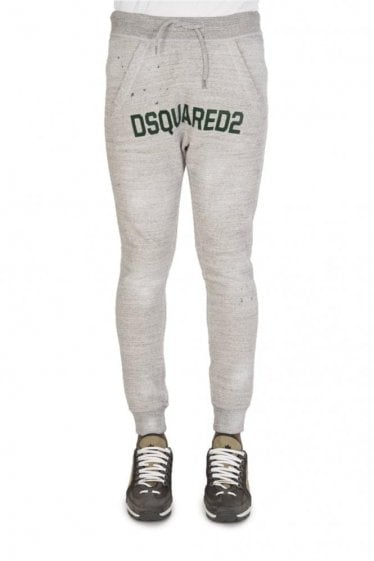 Dsquared Logo Joggers Grey