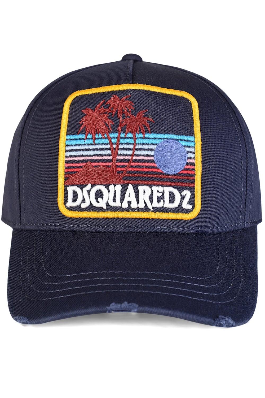 ca140212d Dsquared Logo Patch Baseball Cap