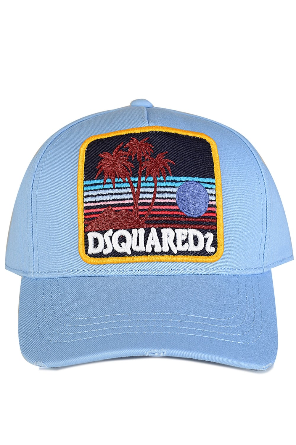 DSQUARED2 Dsquared Logo Patch Baseball Cap - Clothing from Circle ... 60c693032cdf