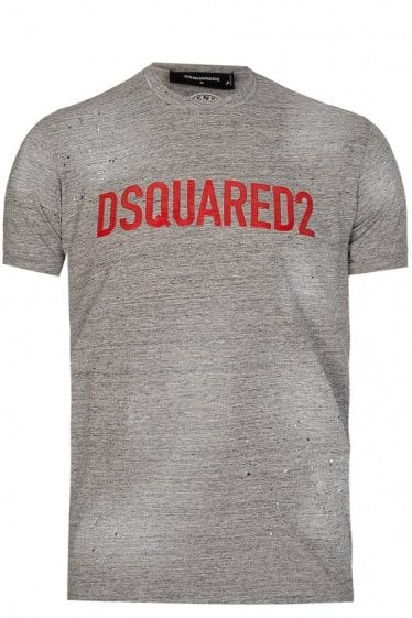 Dsquared Logo T-Shirt Grey