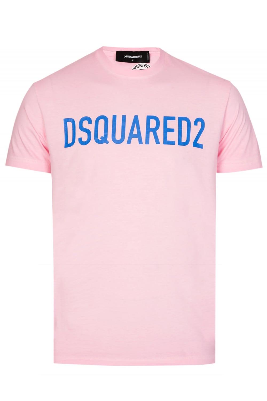 87ad617ea9cd Dsquared Logo Tshirt Pink