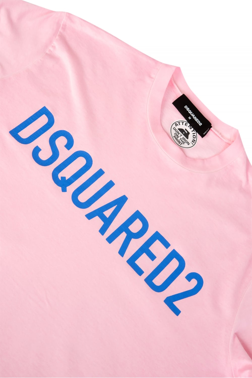 dsquared logo tshirt pink. Black Bedroom Furniture Sets. Home Design Ideas