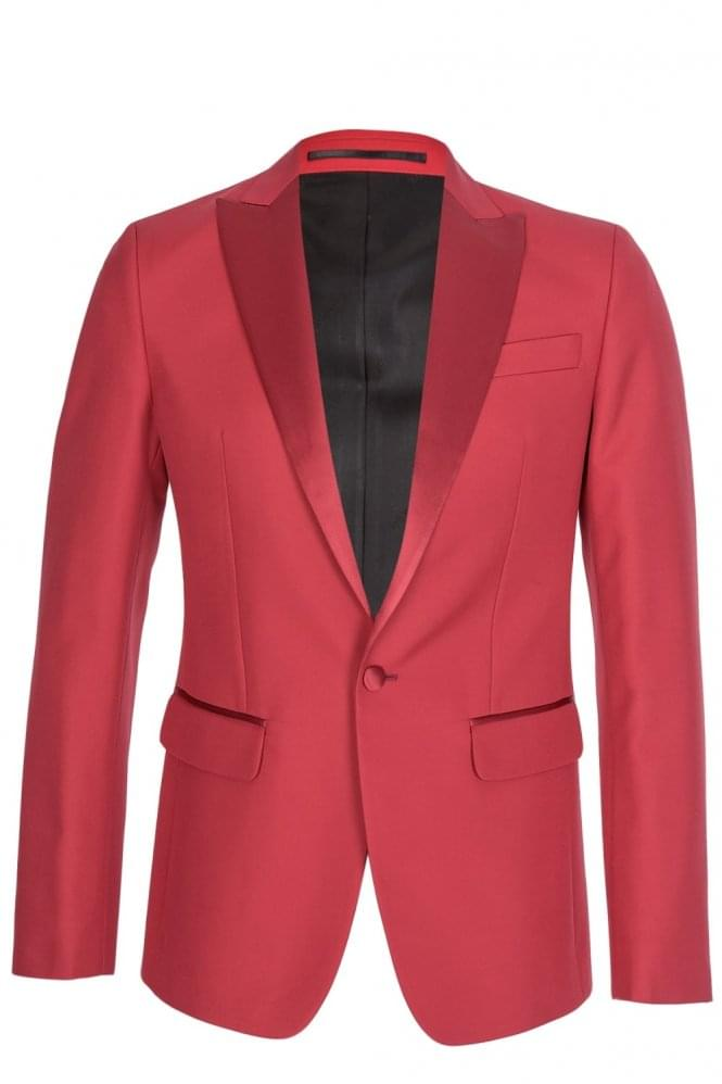 DSQUARED London Fit Tuxedo Red