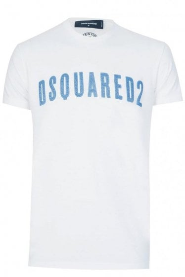 Dsquared Long Cool Fit T-Shirt White