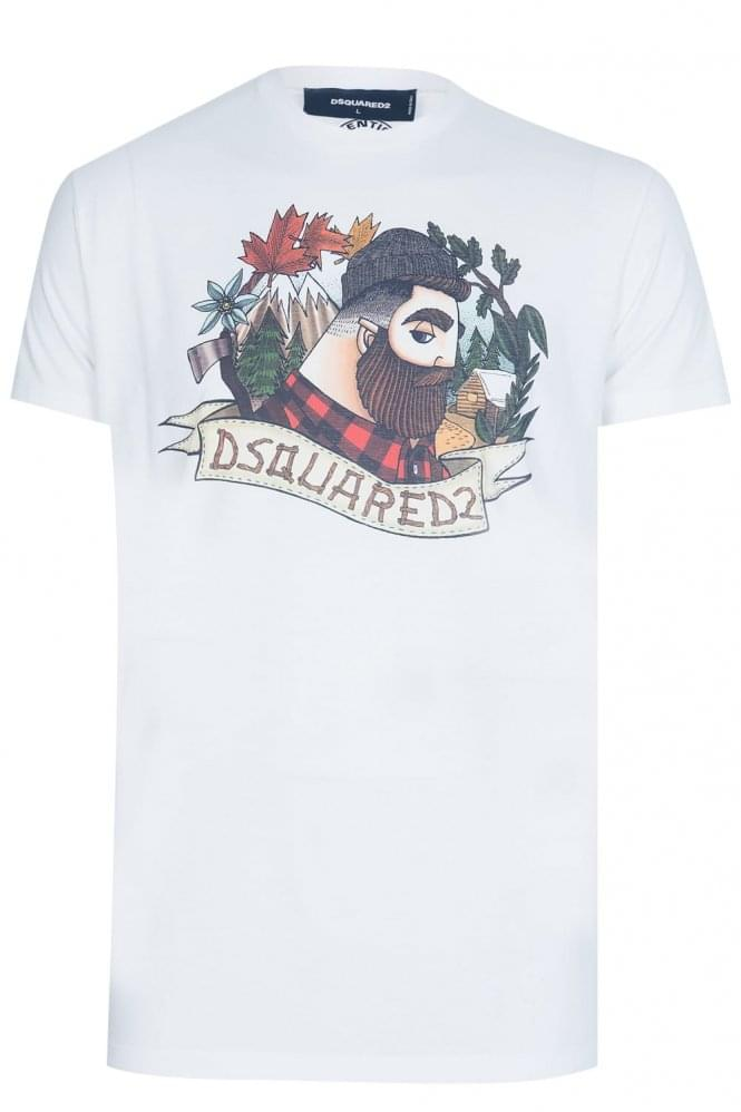 DSQUARED2 Dsquared Lumber Jack Tshirt