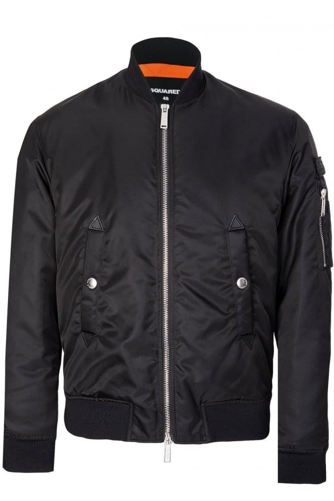 DSQUARED Nylon Bomber Jacket