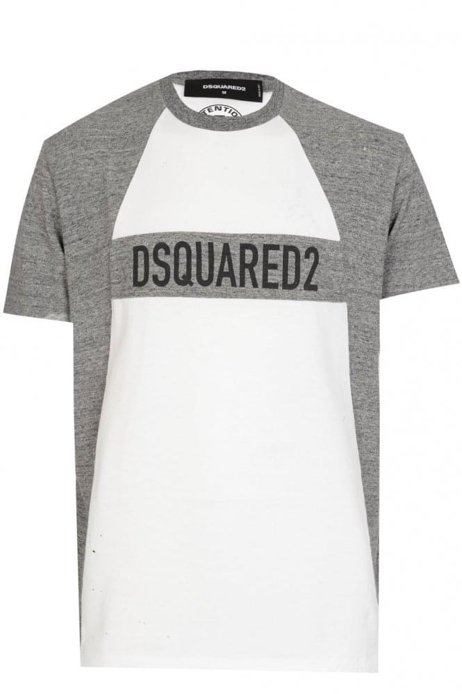 Dsquared Panel Logo Tshirt