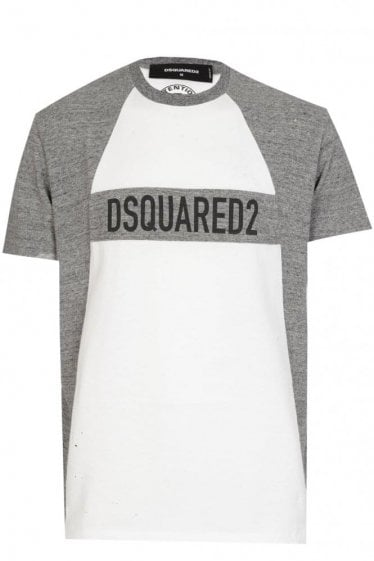 Dsquared Panel Logo Tshirt