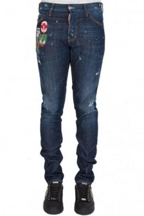 Dsquared Patch Cool Guy Jeans