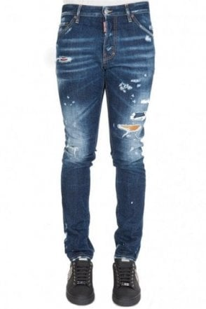 Dsquared Patch Insert Cool Guy Jean