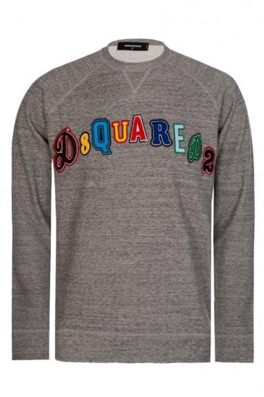 Dsquared Patch Logo Sweatshirt