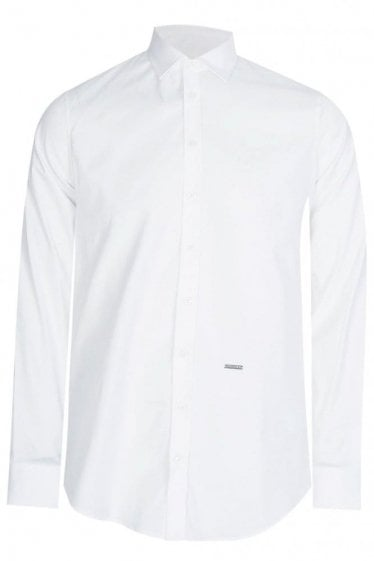 Dsquared Poplin Shirt White