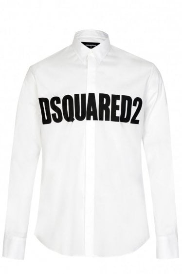 DSQUARED PRINT SHIRT