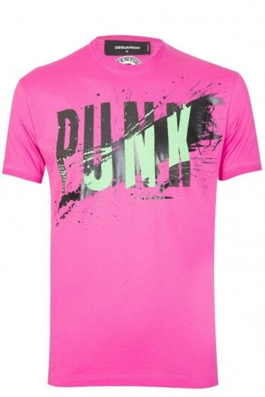Dsquared Punk Tshirt Pink