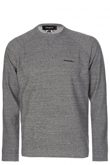 Dsquared Raglon sleeves Sweatshirt Grey Marl