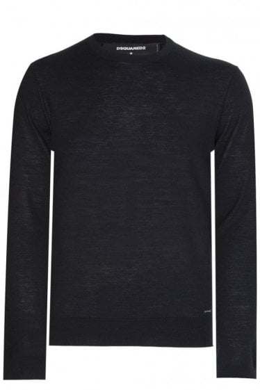 Dsquared Round Neck Fine Knit