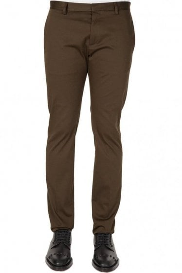 Dsquared Sexy Dan Stretch Trousers Khaki