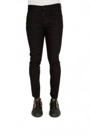 Dsquared Sexy Twist Clean Wash Jeans Black