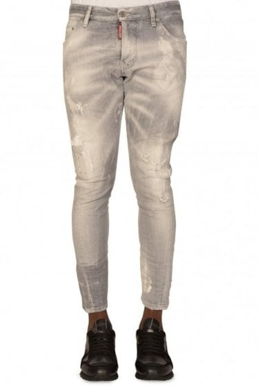 Dsquared Sexy Twist Grey Jeans
