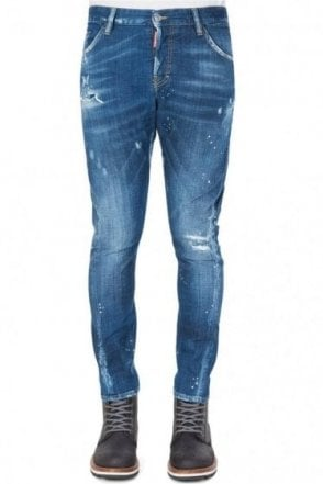 Dsquared Sexy Twist Jeans Blue