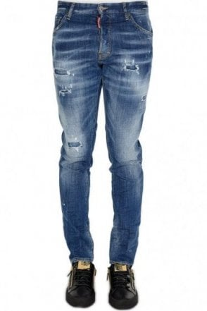 Dsquared Signature Distressed Cool Guy Jeans