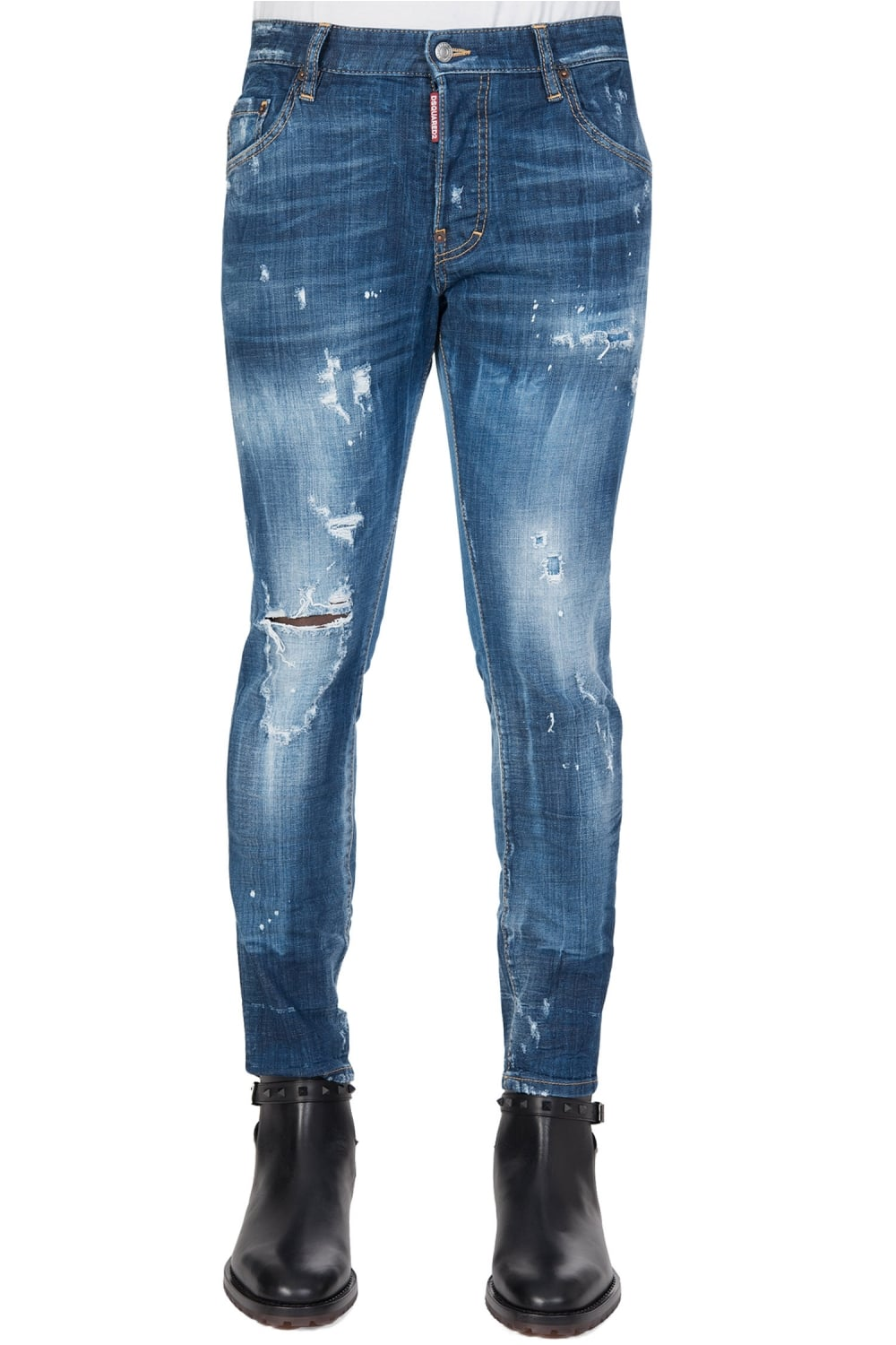 6a33b8ad Dsquared Skater Jeans Blue