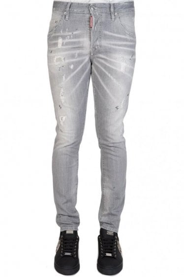 Dsquared Skater Jeans Grey