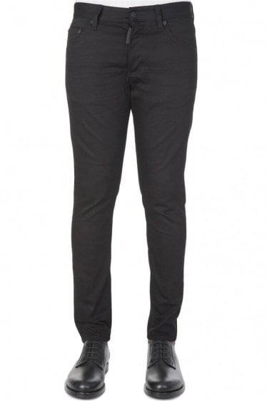 Dsquared Skinny Jean Dan Fit Black