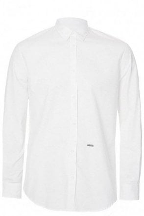 SLIM FIT POPLIN STRETCH