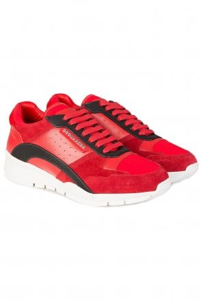 Dsquared Sporty Sole Sneakers Red