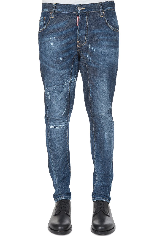 DSQUARED2 Dsquared Tidy Biker Jean - Clothing from Circle Fashion UK b2f135e81101