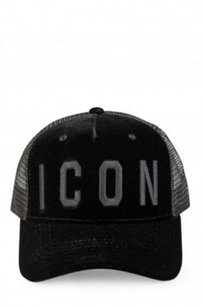 Dsquared Velvet Icon Tonal Baseball Cap