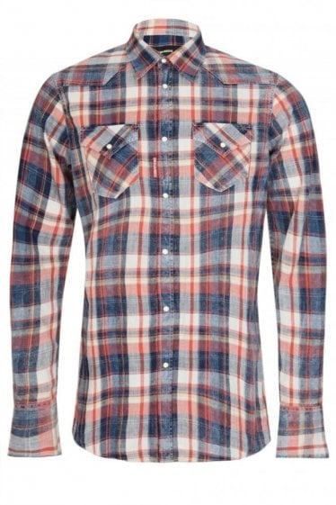 Dsquared Western Checked Shirt