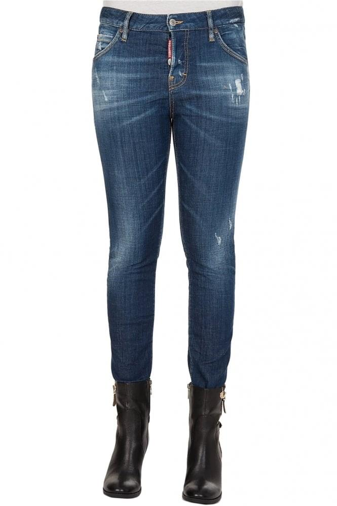 DSQUARED Womens Five Pocket Jeans