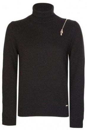 Dsquared Womens Knitted Roll Neck Jumper