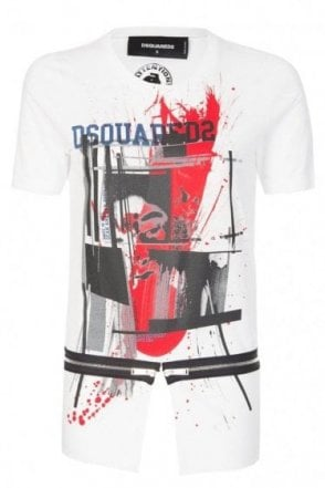 Dsquared Womens Print T-shirt