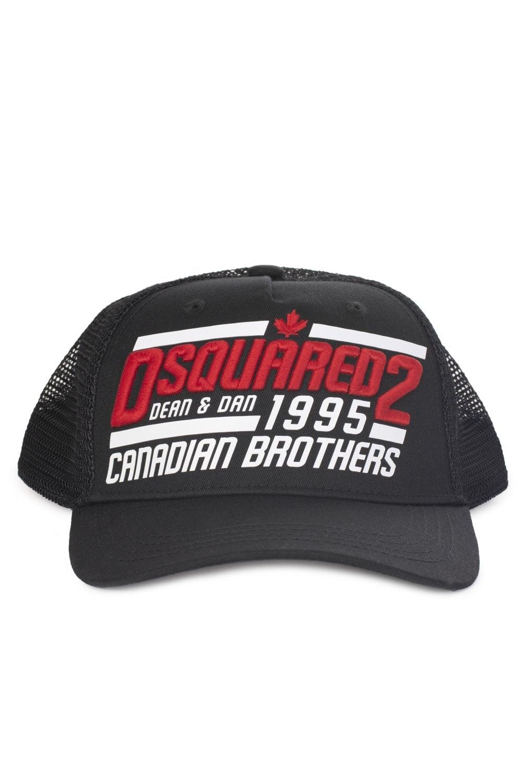 82e2614e52284 DSQUARED2 Dsquared2 Canadian Brothers Mesh Trucker Cap ...