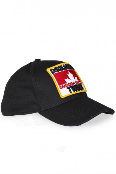 Dsquared2 Canadian Twins Patch Logo Baseball Cap