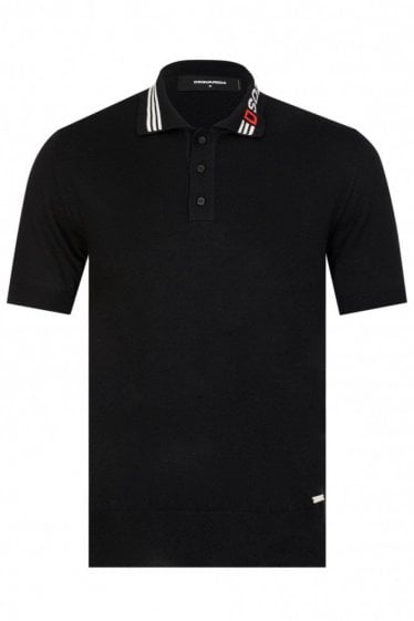 Dsquared2 Contrast Collar Polo Shirt