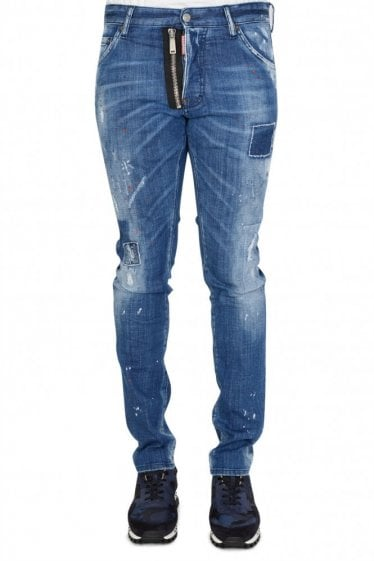 Dsquared2 'Cool Guy' Zip Skater Jeans