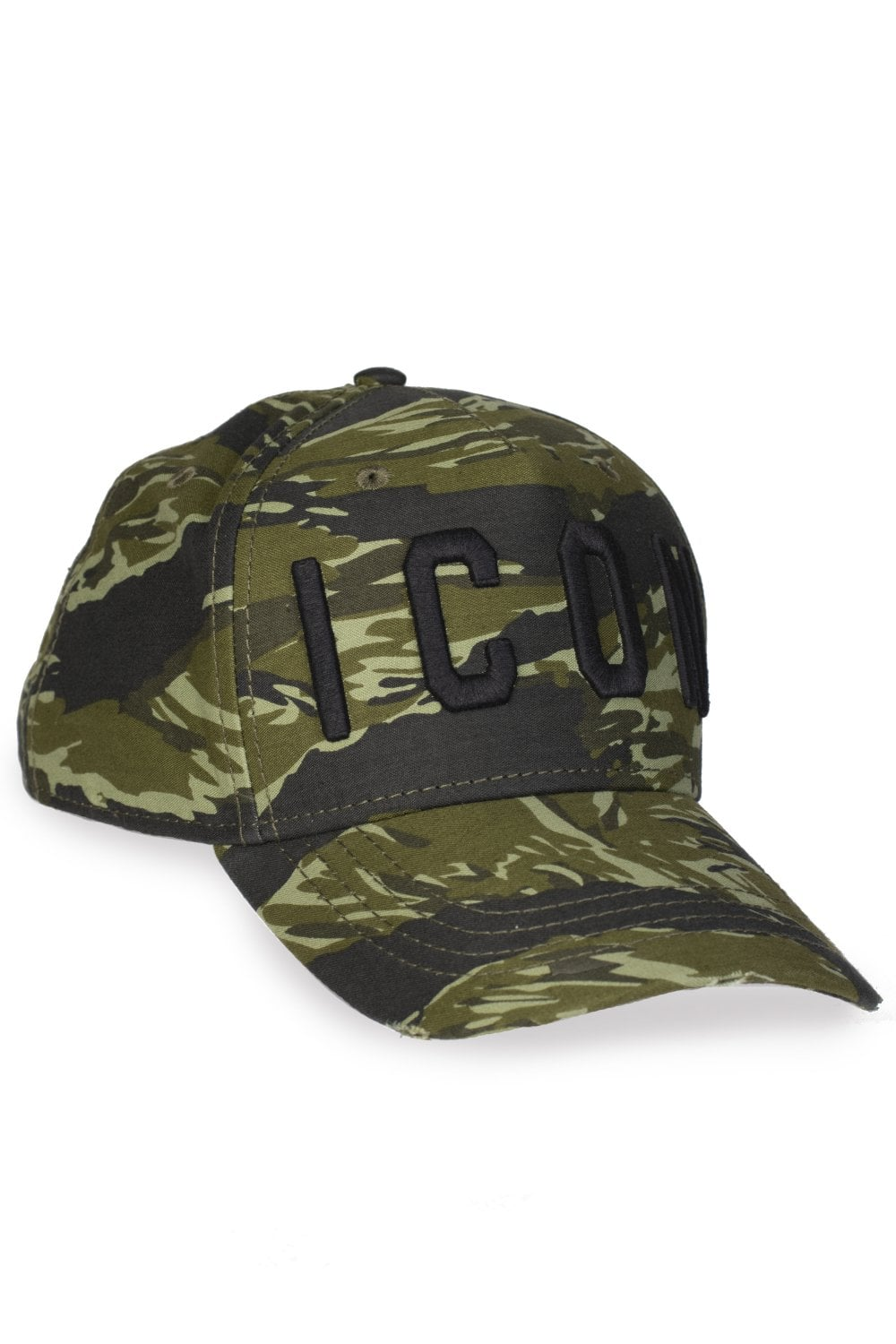 035f74ecdcf DSQUARED2 Dsquared2 Icon Camouflage Baseball Cap - Clothing from ...