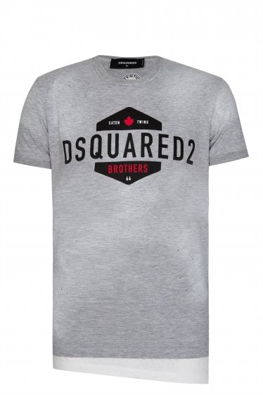 Dsquared2 Layered Logo T-shirt