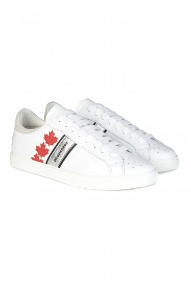 Dsquared2 Maple Leaf Low Rise Sneakers