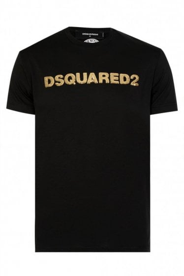Dsquared2 Sequinned Logo T-shirt