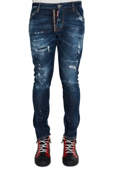 Dsquared2 Sexy Twist Slim Fit Jeans