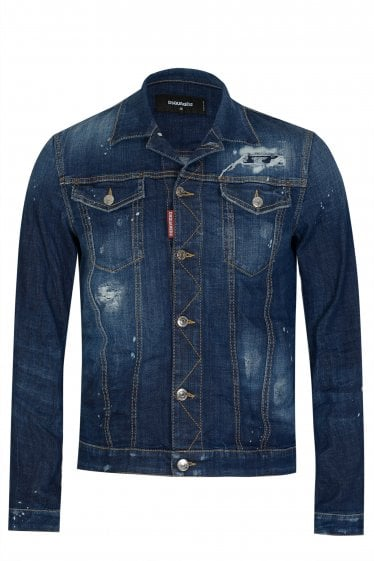 Dsquared2 Tidy Western Denim Jacket