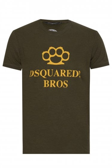 Dsquared2 Vintage Dyed T-shirt